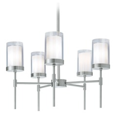 Norwell Lighting Kimberly Brush Nickel Chandelier