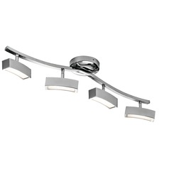 Elan Lighting Landon Chrome LED Rail