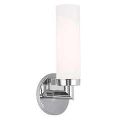 Livex Lighting Aero Chrome Sconce