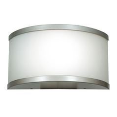 Access Lighting the 180 Satin Nickel Outdoor Wall Light