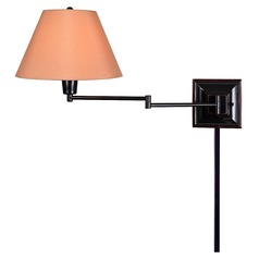Kenroy Home Denman Oil Rubbed Bronze Swing Arm Lamp