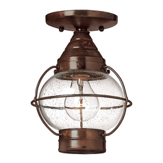 Convertible Outdoor Pendant/Semi-Flush Light