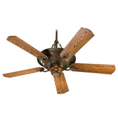 Quorum Lighting Salon Corsican Gold Ceiling Fan with Light