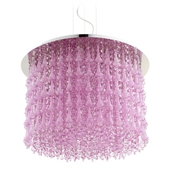 Cyan Design Charleston Purple Pendant Light