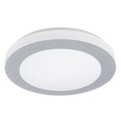 Eglo Carpi 1 White LED Flushmount Light