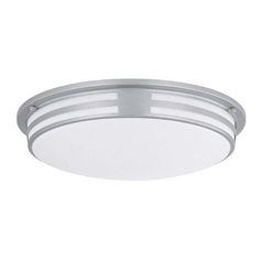 Lite Source Lighting Vascello Silver Flushmount Light
