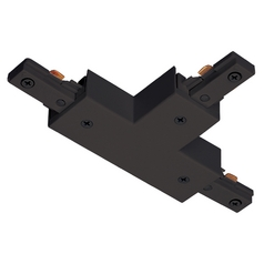 Juno Trac-Lites T Connector in Black Finish