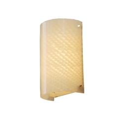 Justice Design Group Fusion Collection Outdoor Wall Light