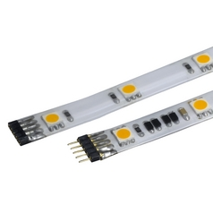 24V LED Tape Light 12-Inch 40-Pack 3500K White by WAC Lighting