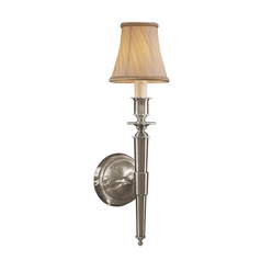 Sconce Wall Light in Brushed Nickel Finish - Shade Not Included