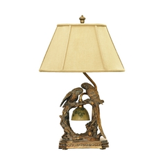Table Lamp with Beige / Cream Shade