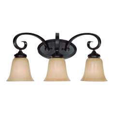 Craftmade Stanton English Toffee Bathroom Light