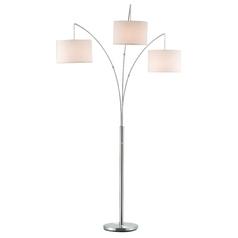 Adesso Home Lighting Trinity Antique Bronze Arc Lamp