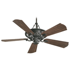 Quorum Lighting Salon Old World Ceiling Fan with Light