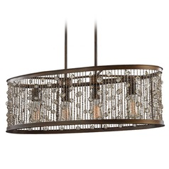 Feiss Lighting Colorado Springs Chestnut Bronze Pendant Light