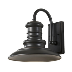 Outdoor Wall Light in Restoration Bronze Finish