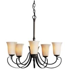 Hubbardton Forge Lighting Five-Light Chandelier 10-1105-05-H35