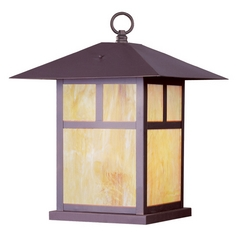 Livex Lighting Montclair Mission Bronze Post Light