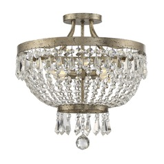 Savoy House Lighting Claiborne Avalite Semi-Flushmount Light