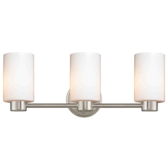 Design Classics Lighting Aon Fuse Satin Nickel Bathroom Light
