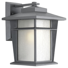Progress Lighting Loyal Textured Graphite Outdoor Wall Light