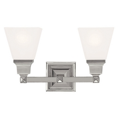 Livex Lighting Mission Polished Nickel Bathroom Light