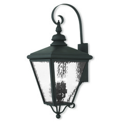 Livex Lighting Cambridge Black Outdoor Wall Light
