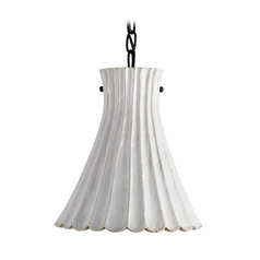 Modern Mini-Pendant Light with White Porcelain Shade