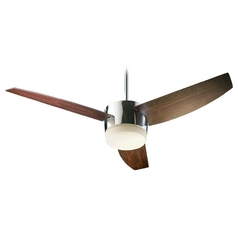 Quorum Lighting Trimark Chrome Ceiling Fan with Light
