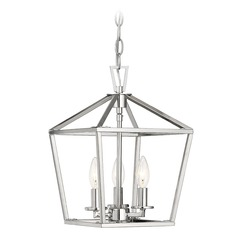 Savoy House Lighting Townsend Polished Nickel Pendant Light