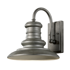 Outdoor Wall Light in Tarnished Finish