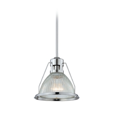 Quoizel Lighting Mini-Pendant Light with Clear Glass QPP1197C