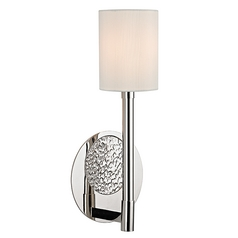 Hudson Valley Lighting Burbank Polished Nickel Sconce