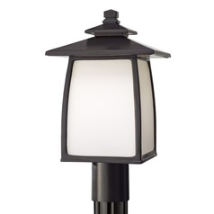 Feiss Lighting Wright House Oil Rubbed Bronze LED Post Light