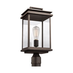 Feiss Lighting Chappman Antique Bronze Post Light