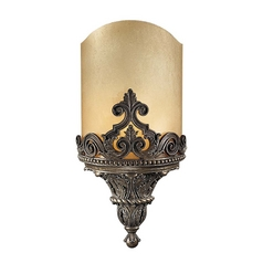 Art Deco Sconce Bronze Metropolitan by Metropolitan Lighting