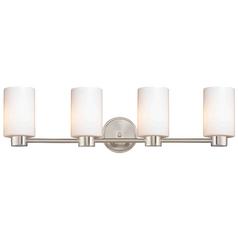 Design Classics Lighting Aon Fuse Satin Nickel Bathroom Light