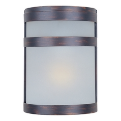 Maxim Lighting Arc Ee Oil Rubbed Bronze Outdoor Wall Light