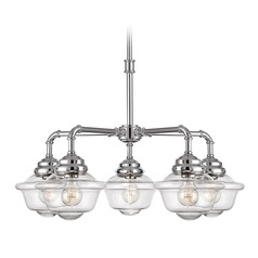 Savoy House Lighting Fairfield Chrome Chandelier