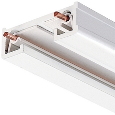 6 Ft Track Section in White Finish Juno Trac Lites Collection