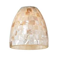 Mosaic Dome Glass Shade - Lipless with 1-5/8-Inch Fitter Opening