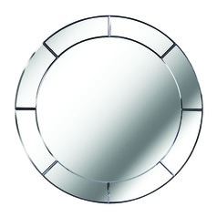 Miere Round 31.87-Inch Decorative Mirror by Kenroy Home