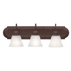 Kichler Bathroom Light in Bronze Finish