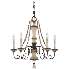 Chandelier in Provence Patina Finish