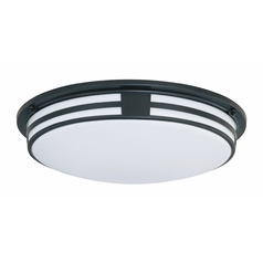 Lite Source Lighting Vascello Black Flushmount Light