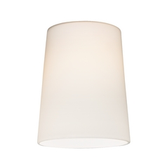 Design Classics Lighting Cone Glass Shade in Satin White - Lipless with 1-5/8-Inch Fitter Opening GL1027