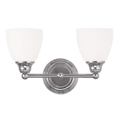 Livex Lighting Somerville Chrome Bathroom Light