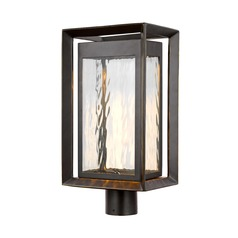 Feiss Lighting Urbandale Antique Bronze LED Post Light