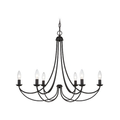Quoizel 6-Light Chandelier in Imperial Bronze