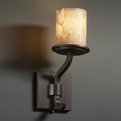 Justice Design Group Alabaster Rocks! Collection Sconce